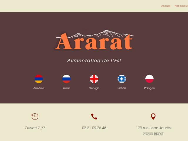 Ararat Alimentation de l'Est