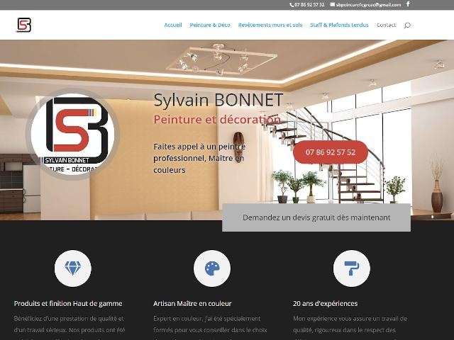 Sylvain Bonnet - Peinture et décoration